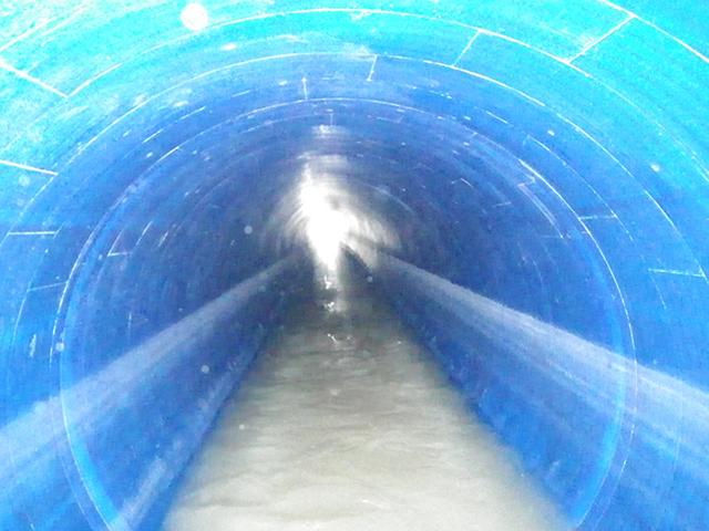 長寿命化事業 厘外汚水幹線(1650)管渠更生外工事
