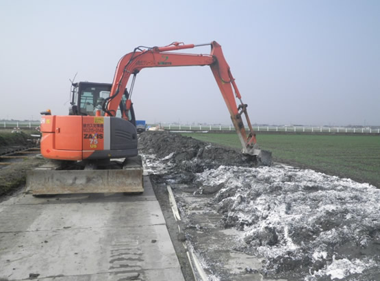 小城地区クリーク防災機能保全対策事業工事